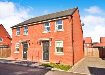 Thumbnail 2 bed semi-detached house for sale in Thomas Way, Horsford, Norwich