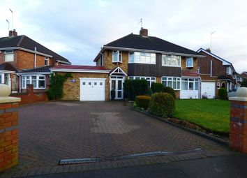 Thumbnail 3 bed semi-detached house for sale in Springfield Lane, Wolverhampton