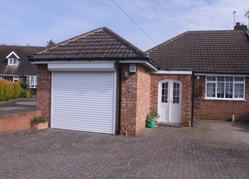 Thumbnail 2 bed semi-detached bungalow for sale in Manor Road, Wythall, Birmingham