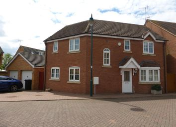 Thumbnail 4 bed detached house for sale in Redshank Way, Hampton Vale, Peterborough