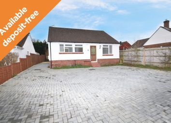 Thumbnail 4 bed detached bungalow to rent in Yew Tree Close, Hedge End, Southampton