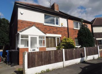 Thumbnail 3 bed semi-detached house for sale in Woodhall Crescent, Stockport