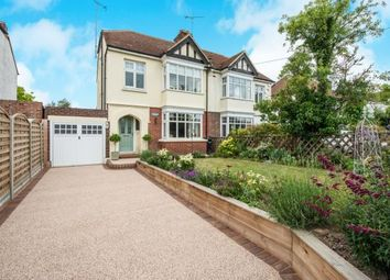 Thumbnail 3 bed semi-detached house for sale in Gravesend Road, Shorne, Gravesend, Kent