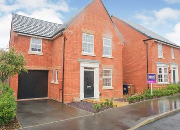 Thumbnail 3 bed detached house for sale in Snowley Park, Peterborough