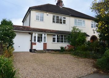 Thumbnail 3 bed semi-detached house to rent in Hedgerow Lane, Kirby Muxloe