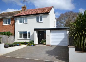 Thumbnail 3 bedroom semi-detached house for sale in Clinton Close, Budleigh Salterton, Devon