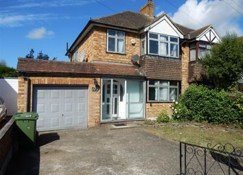 Thumbnail 3 bed semi-detached house for sale in Stanwell Road, Ashford, Middlesex