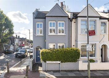 Thumbnail 4 bedroom end terrace house for sale in Strathville Road, London