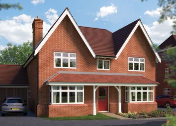 "Thumbnail 5 bed detached house for sale in ""The Winchester"" at Blunsdon, Swindon"