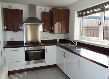 Thumbnail 3 bed town house to rent in Ross Walk, Leicester
