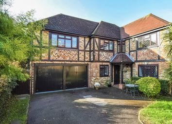 Thumbnail 5 bed detached house for sale in Cullerne Close, Ewell Village, Surrey