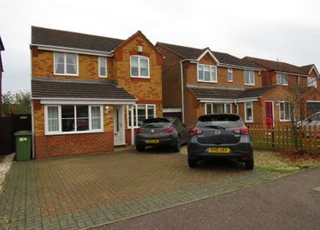 Thumbnail 4 bed detached house for sale in Garston Road, Great Oakley, Corby