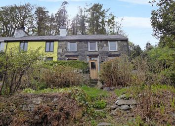 Thumbnail 3 bed end terrace house for sale in Cwm-Y-Glo, Caernarfon