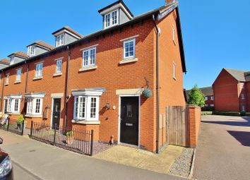 Thumbnail 3 bed terraced house for sale in Greetham Way, Syston, Leicestershire