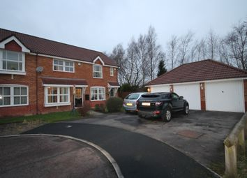 Thumbnail 2 bed semi-detached house to rent in Belfry Close, Euxton, Chorley