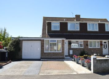 Thumbnail 3 bed semi-detached house for sale in Fulmar Road, Worle, Weston-Super-Mare