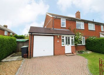 Thumbnail 3 bed semi-detached house for sale in Millards Close, Cranfield, Bedfordshire