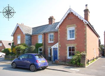 Thumbnail 3 bed semi-detached house for sale in Western Road, Lymington, Hampshire