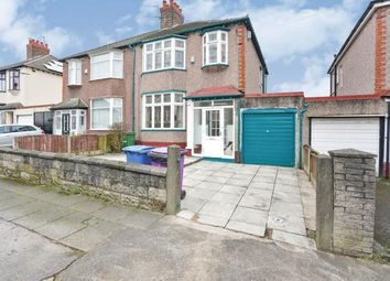 3 bed semi-detached house for sale in Rexmore Road, Mossley Hill, Liverpool, Merseyside L18