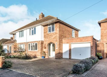 Thumbnail 3 bed semi-detached house to rent in Fairholme, Bedford