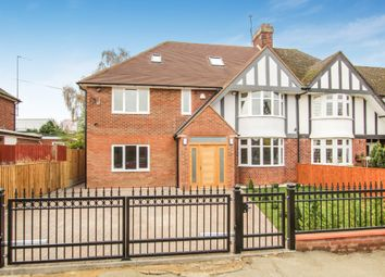 Thumbnail 5 bed semi-detached house for sale in Manor Drive, Aylesbury