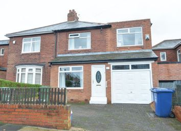 Thumbnail 3 bedroom semi-detached house for sale in Ronald Drive, Denton Burn, Newcastle Upon Tyne