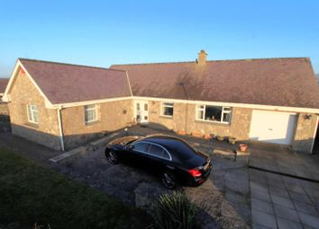 Thumbnail 3 bed detached bungalow for sale in Dinas Dinlle, Caernarfon