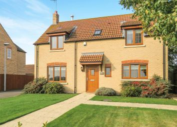 Thumbnail 3 bed detached house for sale in Herne Road, Ramsey St. Marys, Ramsey, Huntingdon