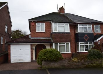 Thumbnail 3 bed semi-detached house for sale in Malcolm Drive, Bucknall, Stoke-On-Trent