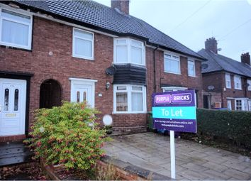 Thumbnail 3 bed terraced house to rent in Halewood Road, Liverpool