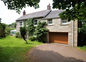 Thumbnail 5 bed farmhouse for sale in Grumbla, Sancreed