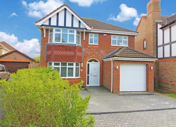 Thumbnail 4 bed detached house for sale in Lucilla Avenue, Ashford
