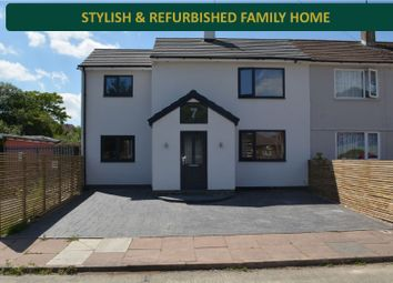 Thumbnail 3 bed semi-detached house for sale in Elsworthy Walk, New Parks, Leicester