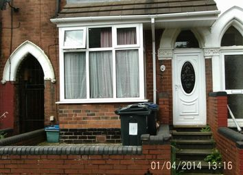 Thumbnail 3 bedroom terraced house to rent in Woodland Road, Handsworth, Birmingham