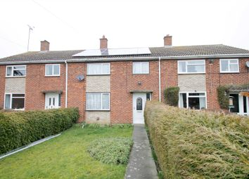 Thumbnail 3 bed terraced house for sale in Heron Avenue, Thrapston, Kettering