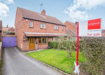 Thumbnail 3 bed semi-detached house for sale in New Lane, Green Hammerton, York, North Yorkshire