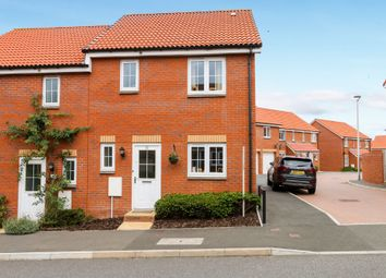 Thumbnail 3 bed semi-detached house for sale in St. Michaels Way, Cranbrook, Exeter