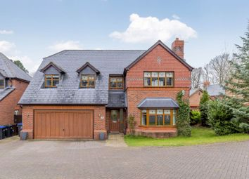 Thumbnail 4 bed detached house for sale in West Drive, Cheddleton, Staffordshire