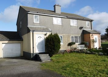 Thumbnail 3 bed property to rent in Trethannas Gardens, Praze, Camborne