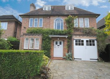 Thumbnail 6 bed detached house to rent in Litchfield Way, Hampstead Garden Suburb