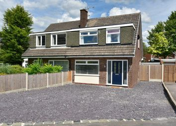 Thumbnail 3 bed semi-detached house for sale in Seal Road, Bramhall, Stockport