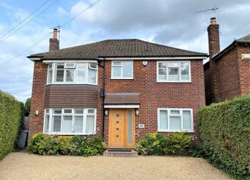 Thumbnail 4 bed detached house for sale in Rostherne Road, Wilmslow