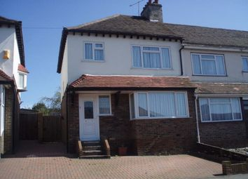Thumbnail 4 bedroom semi-detached house to rent in Bevendean Crescent, Brighton