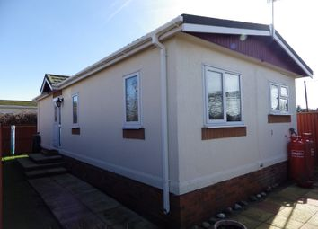 Thumbnail 3 bed mobile/park home for sale in Station Road, Heacham, Kings Lynn