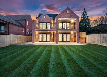 Thumbnail 4 bed detached house for sale in Rectory Drive, Upper Broughton, Melton Mowbray