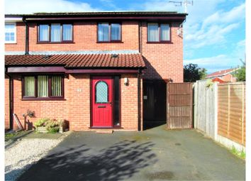 Thumbnail 3 bed semi-detached house for sale in Flax Croft, Hatton, Derby