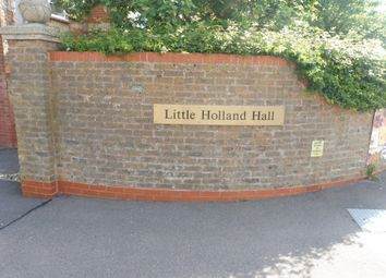 Thumbnail 1 bed flat for sale in Hall Crescent, Holland-On-Sea, Clacton-On-Sea