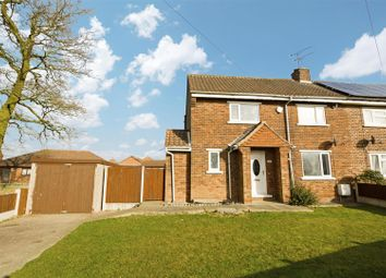 Thumbnail 3 bedroom semi-detached house for sale in Vicarage Crescent, Burton-Upon-Stather, Scunthorpe