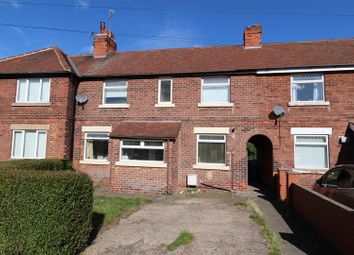 Thumbnail 3 bed terraced house for sale in Manton Crescent, Worksop