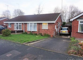 Thumbnail 2 bed bungalow for sale in Stagborough Way, Cannock
